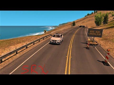 American Truck Simulator - Road Trip - Big Sur Landslide
