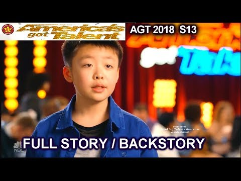 Jeffrey Li  Wants A Dog Judges Interview & FULL STORY OR BACKSTORY America's Got Talent 2018  AGT