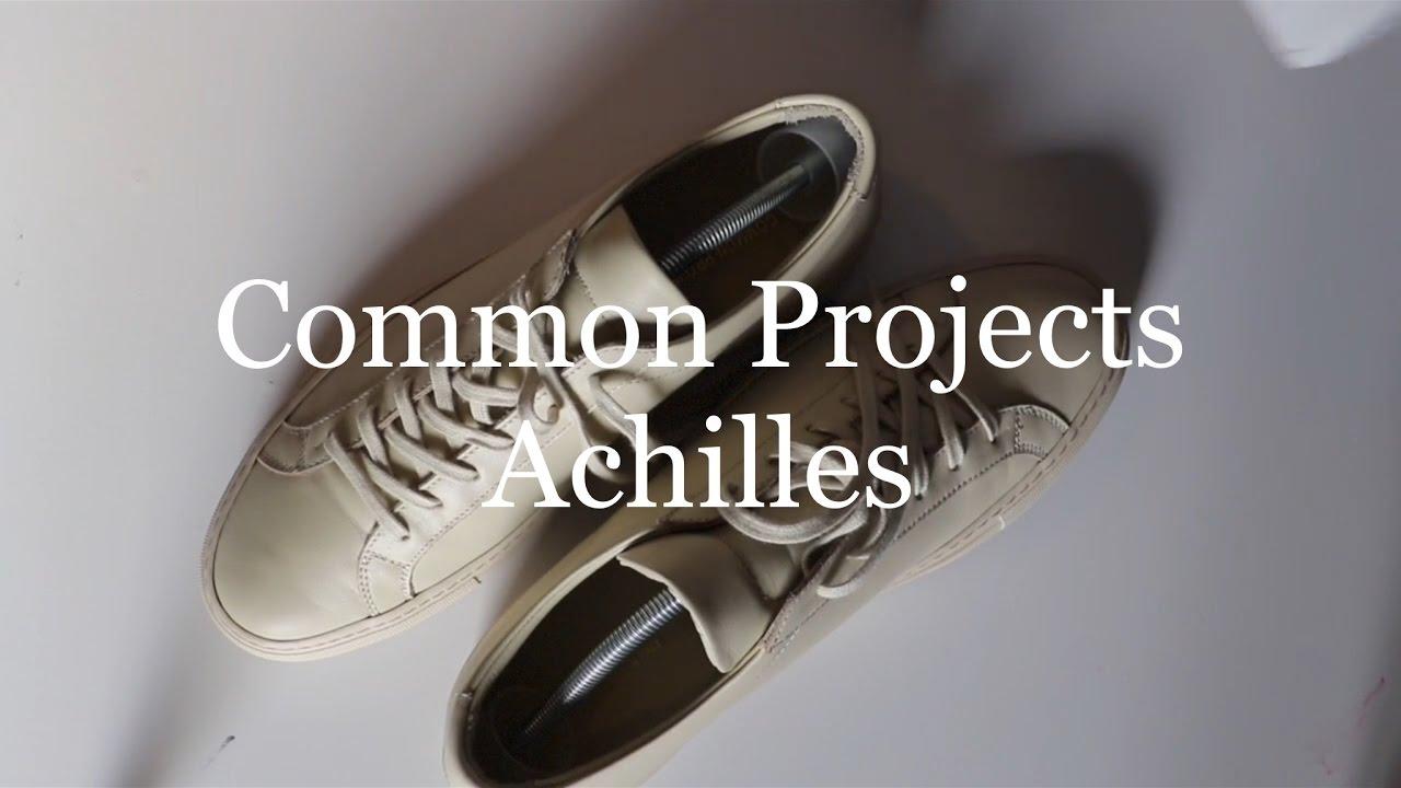Common Projects Achilles Pickup vs