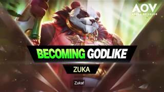 Becoming Godlike - Zuka | Advanced Gameplay Guide - Garena AOV (Arena of Valor)