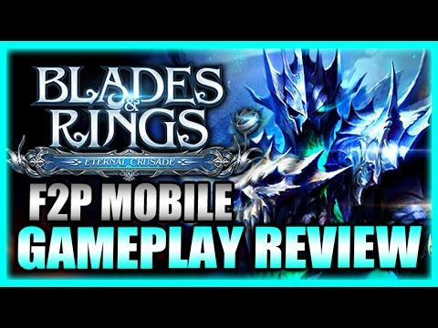 New Mage Class! Blades and Rings Gameplay Review - Free to Play Mobile Games