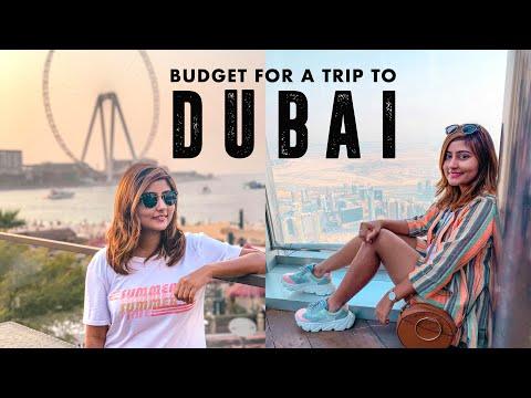 How to plan a trip to DUBAI   BUDGET FOR A 7-DAY FAMILY TRIP TO DUBAI   Kritika Goel