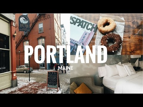 Travel Vlog: Portland, Maine