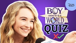 The Ultimate Boy Meets World Trivia Challenge