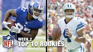 Top 10 Rookies Through Week 2   Bucky Brooks on NFL Now