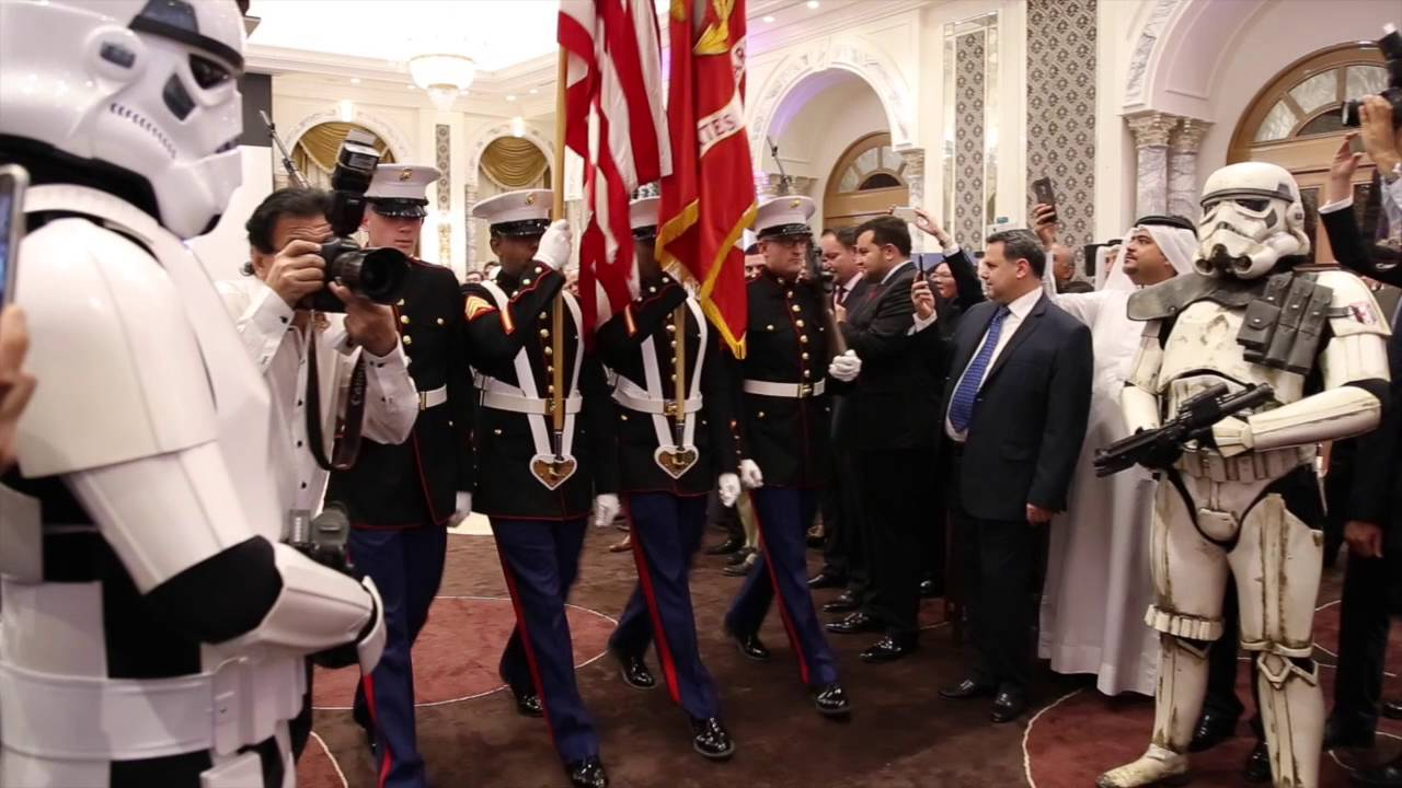 Dubai US Consulate Celebrates US National Day 2016 - YouTube