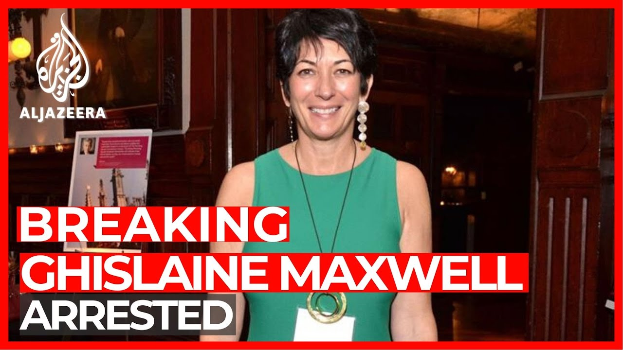 Jeffrey Epstein Confidante Ghislaine Maxwell Arrested on Sex ...