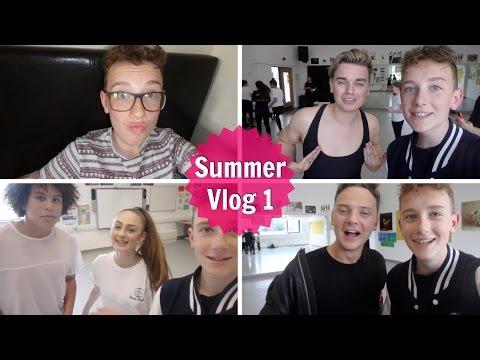 Summer Week #1 | Meeting Jack and Conor Maynard | Actually Adam