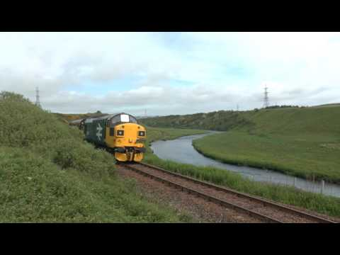 37025 and 37421 to Wick on SRPS The Far North Explorer 03/06/17