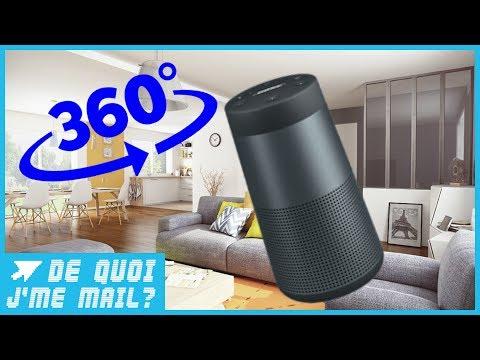 Soundlink Revolve : Bose lance son enceinte au son 360°  DQJMM (2/2)