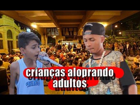 CRIANÇAS ALOPRANDO ADULTOS NA RIMA ● HD