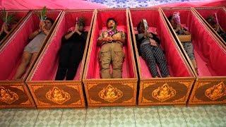 [Eng Sub] 冒险雷探长 第105集 四面佛躺棺材转运传说——泰国 Buddha Legend - Thailand