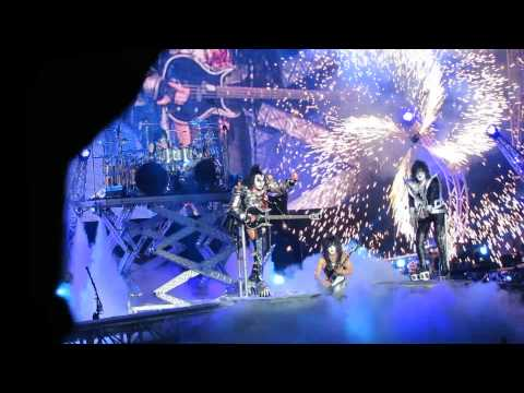 KISS - Rock and Roll All Nite - Toronto - Molson Canadian Amphitheatre - Jul. 26, 2013 Monster Tour