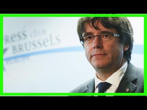 US Newspapers - Catalan leader won't return to spain