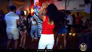 Alberto and Lisondra Bachata Social dance   Dance Vida   Kiss me Lola Jane