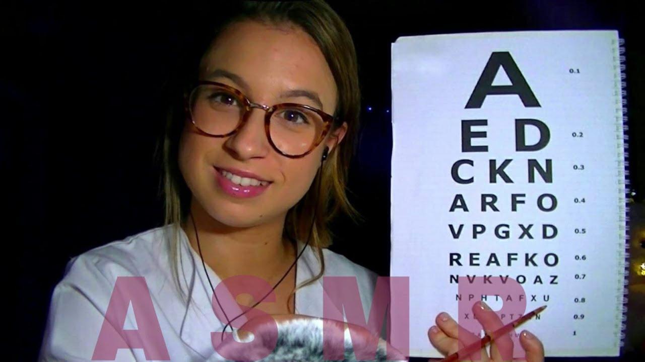 ASMR || Médico oculista te revisa la vista || Pau ASMR