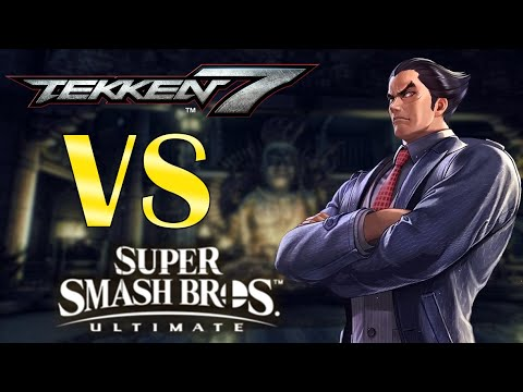 Kazuya Mishima Moveset Comparison: Super Smash Bros Ultimate vs Tekken 7 |