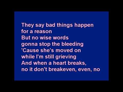 Break Even Lyrics