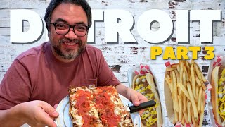 DETROIT Iconic Food - Things to do and eat in Detroit - Part 3