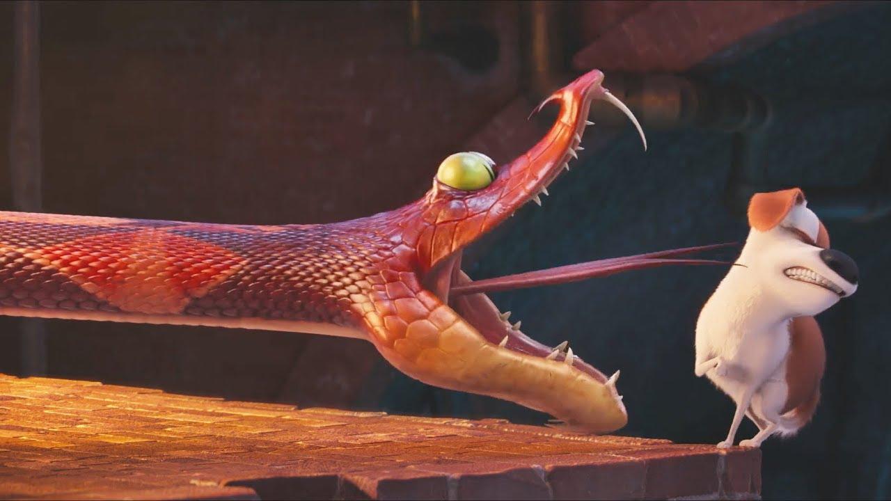 Download The Secret Life of Pets -  Viper Death Scene