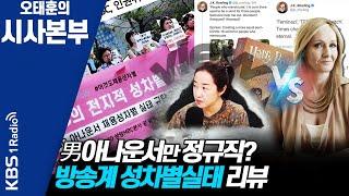 [시사본부]인권위, 대전MBC 성차별 채용 시정 권고-…