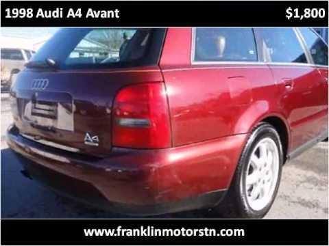 1998 Audi A4 Avant Used Cars Nashville Tn Youtube