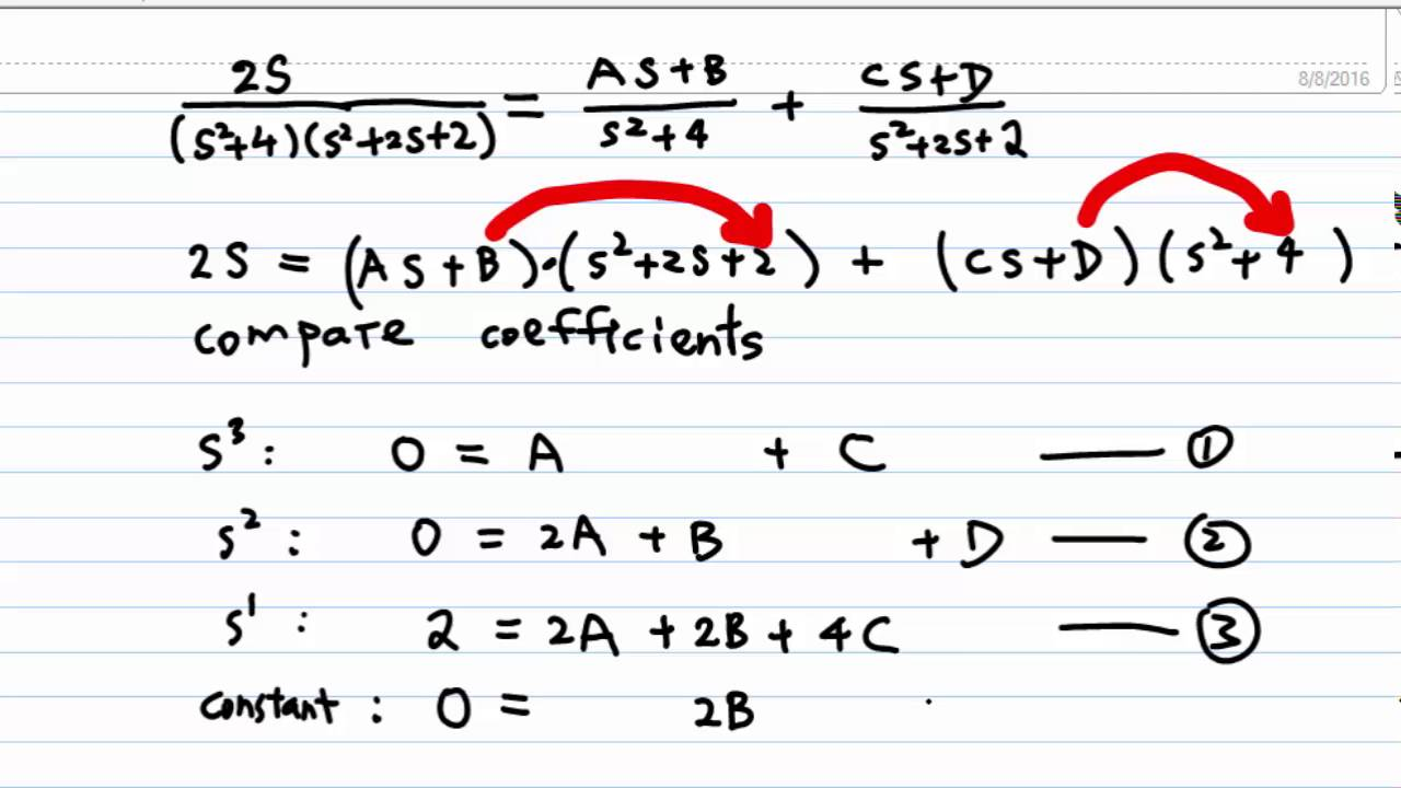 How To Solve Simultaneous Equations With Fractions In Them