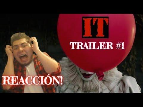 IT (ESO) TRAILER #1 | REACCIÓN