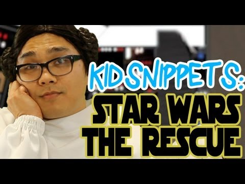 "Kid Snippets: ""Star Wars - The Rescue"" (Imagined by Kids)"