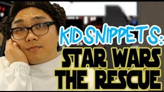"""Kid Snippets: """"Star Wars - The Rescue"""" (Imagined by Kids)"""