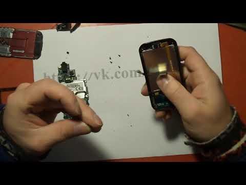 замена шлейфа Samsung C3752 или С3750