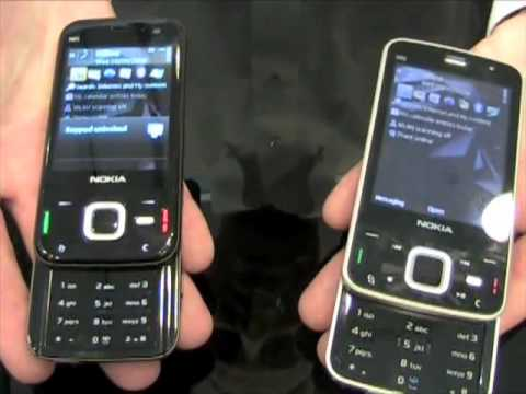 Nokia N96 N85 N79 and E71 Hands-On