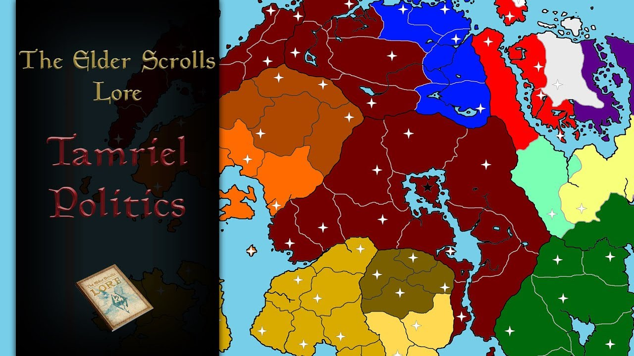 The Political Situation On Tamriel Right Now The Elder Scrolls