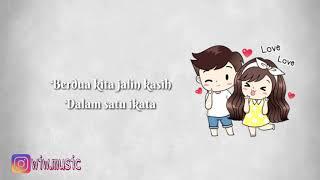 Download Rizky Febian Ft Aisyah Aziz - Indah Pada Waktunya | Lirik Animasi (Cover by Aldi Maldini & Kezia) Mp3