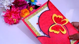 How to Make - Easy Greeting Card Mother's Day Step by Step || DIY Beautiful Mother's Day card making