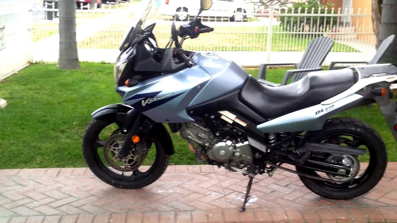2006 suzuki v strom 650 youtube. Black Bedroom Furniture Sets. Home Design Ideas