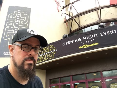 Prologue: Star Wars The Force Awakens Premiere At Disney Springs Hollywood Studios