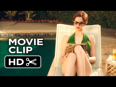 White Bird In A Blizzard Movie CLIP - Poolside Chat (2014) - Eva Green Drama HD