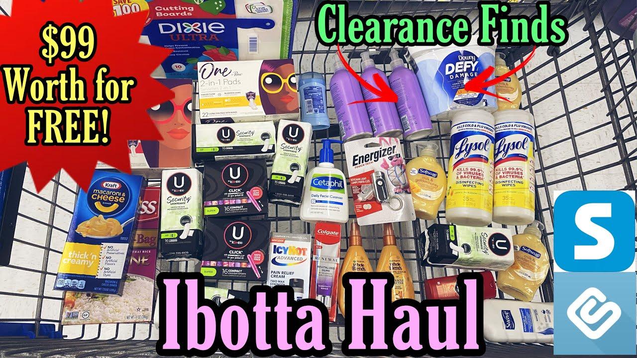 Walmart Ibotta Haul - $99 Worth for FREE! 8/1-7/21
