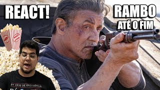 RAMBO: Até o Fim Reação e Análise do Teaser Trailer 2 Last Blood (REACT)
