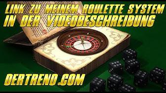 Perfektes Roulette System ohne Verdoppeln!