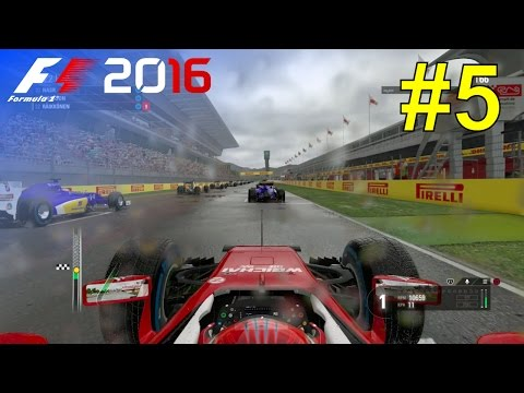 F1 2016 - Let's Make Kimi World Champion Again #5 - 100% Race 'Spain'