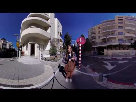 Join Reny on a 360 tour of Tel aviv