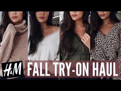 FALL TRY ON CLOTHING HAUL: H&M | Stephanie...