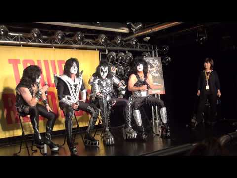 KISSONLINE EXCLUSIVE: KISS FAN Q&A AT TOWER RECORDS IN TOKYO