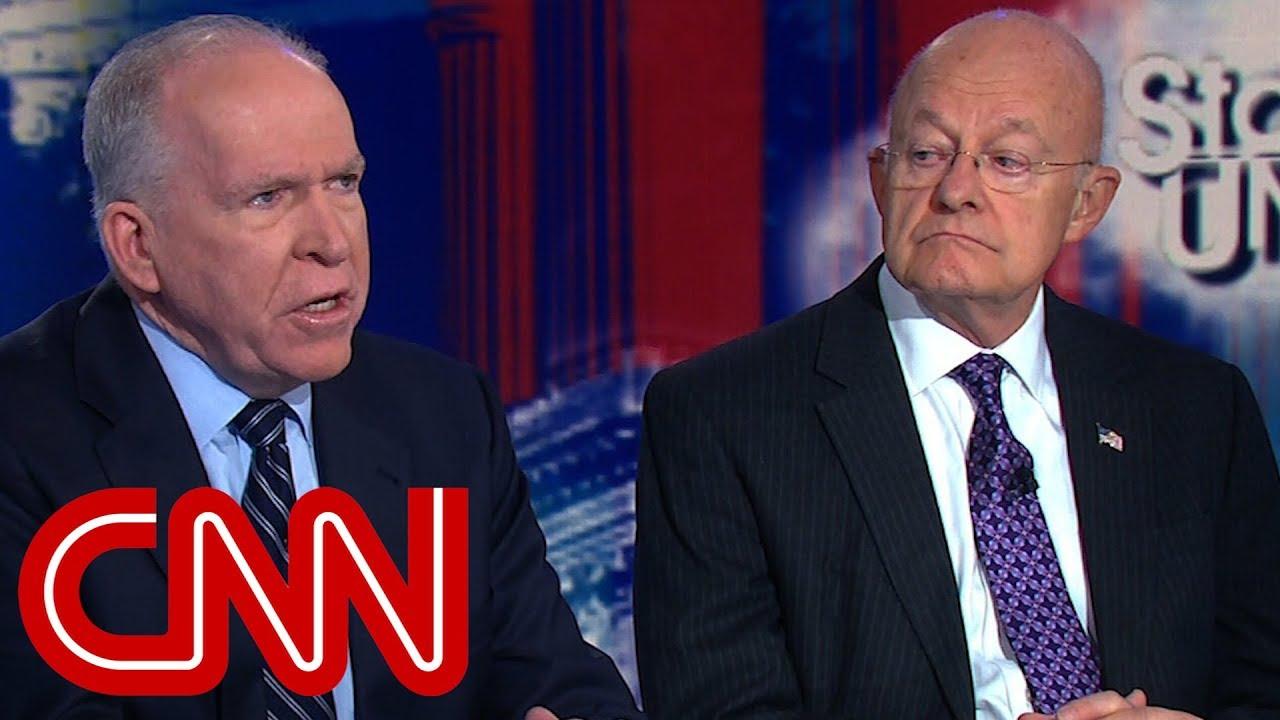 Ex-intelligence chiefs fire back at Trump criticism (Entire CNN interview)