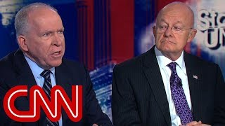 Ex-intelligence chiefs fire back at Trump criticism (Entire CNN interview)