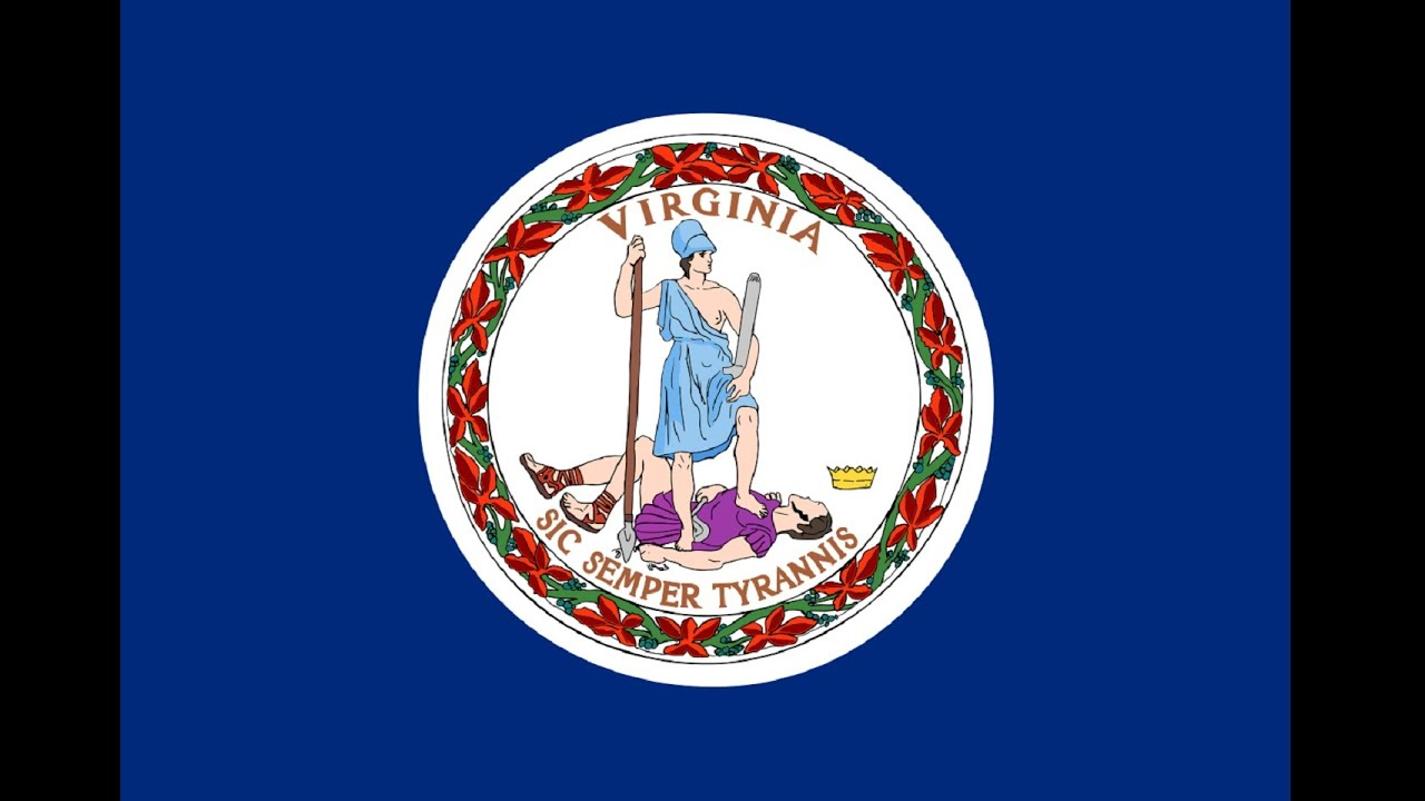 Virginias Flag And Its Story Youtube