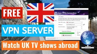 Watch UK TV abroad with Free UK VPN Servers!  Unblock TV Series from iPlayer, HUB with UK VPN Server