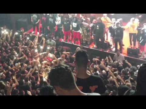 """XXXtentacion """"Suicide Pit"""" pt 1 live in LA"""